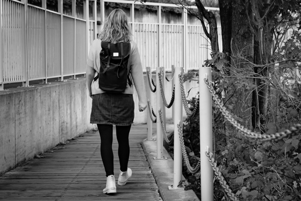Walking through Victoria