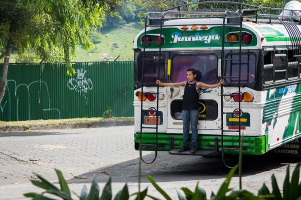 Bus ride @ Jinotega