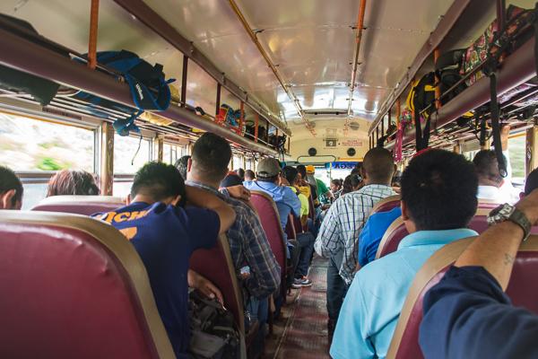 Chickenbus Ride @Jinotega