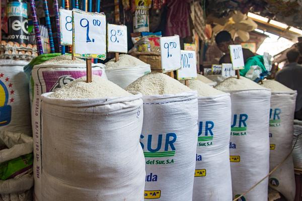 Rice for sale @Granada