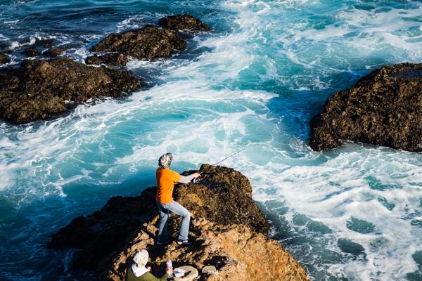 Fishermen @Big Sur