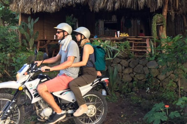 Wir sind die coolsten wenn wir cruisen und um Ometepe Island