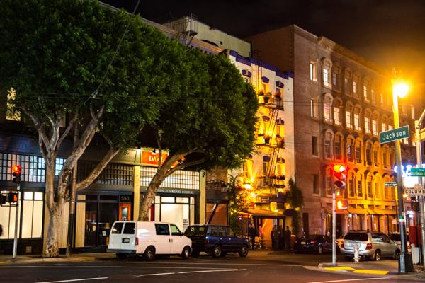 Night @San Francisco