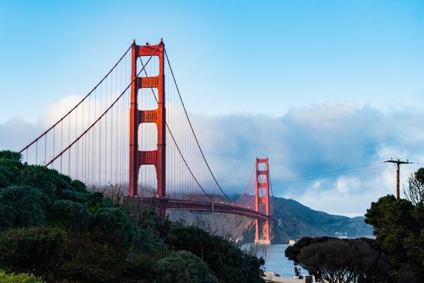 Second favourite bridge @Golden Gate Bridge