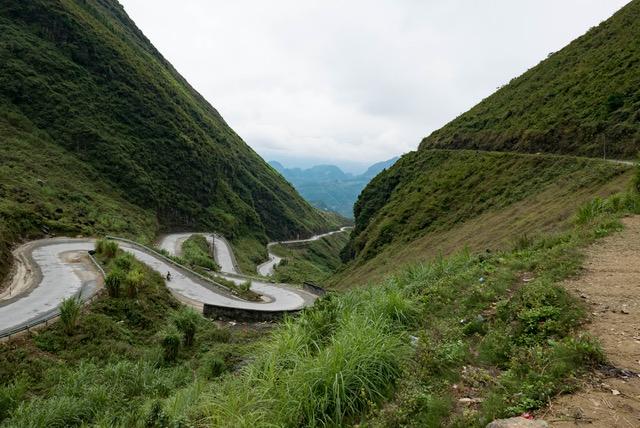 Vietnam Ha Giang Provinz Passstrassen