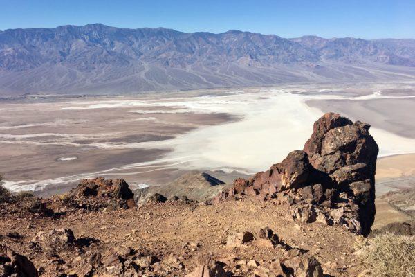 Death Valley Dantes View Aussichtspunkt