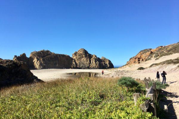 Pfeiffer National Park_Unterwegs am Strand