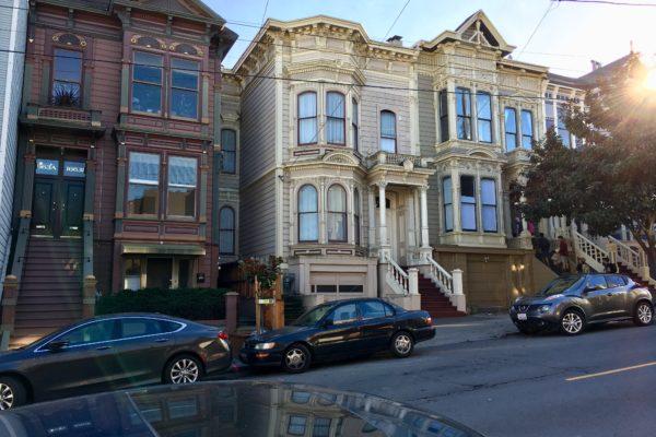 San Francisco's schöne Häuser